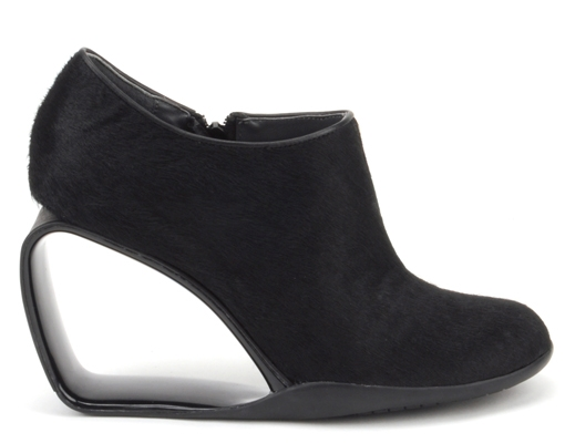 Step Mobius Ankle Bootie Black