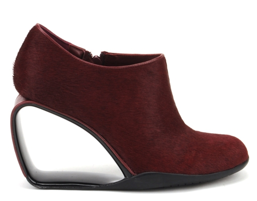 Step Mobius Ankle Bootie Bordeaux